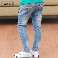 boys light blue tie fall 2015 new pige pigs children s wear panty children boys jeans