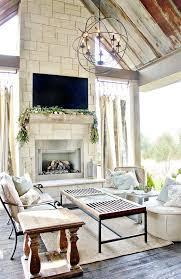 farm house fireplace dream home style