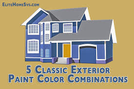 examples of exterior color schemes for houses paint including