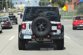 future jeep wrangler spied 2018 jeep wrangler jl unlimited totally uncovered