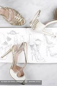Wedding Shoes London Feminine Bridal Shoes For Wedding Day Chic Emmy London