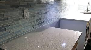 stone glass tile backsplash kitchen glass tile stone and glass