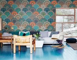 how to get this season s bohemian chic look at home ethnic pattern wall mural pixers