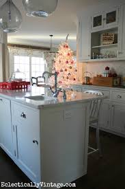 christmas kitchen decorating ideas at eclectically vintage