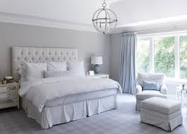 gray bedrooms gray and blue master bedroom with blue french pleat curtains
