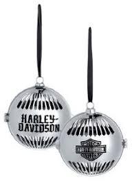 harley davidson fun ornament set harley christmas items