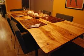 harvest dining room table live edge ash harvest table dining room table craftsman dining