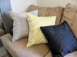 How To Make Sofa Pillow Covers Throw Pillow Cover Sewing Tutorial A How To For Invisible Zippers