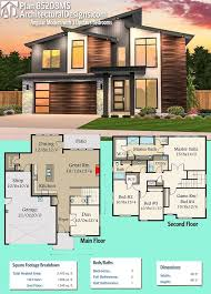 2400 Square Foot House Plans 180 Best Modern House Plans Images On Pinterest Modern House
