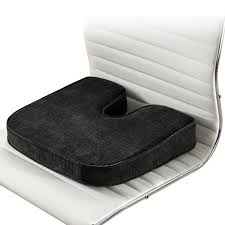 orthopedic seat cushions at brookstone u2014buy now