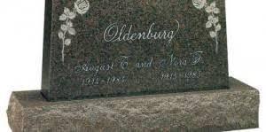 upright headstones upright marker american headstones company