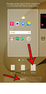 grid layout for android how to change the screen grid layout in android marshmallow solve