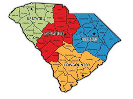 county map of sc 2016 south carolina best restaurant in each county