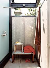 How To Keep Shower Curtain From Attacking You How To Create An Outdoor Shower In The Middle Of The City