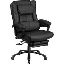 black leather reclining chair with lumbar support sithealthier