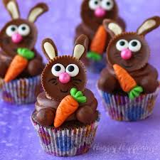 reese s easter bunny reese s cup easter bunny cupcakes