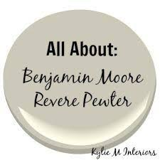 colour review benjamin moore revere pewter revere pewter white
