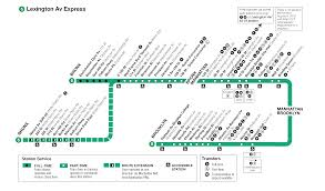 Green Line Metro Map by Nyc Metro Route 5 Lexington Avenue Express Metro Station Nyc