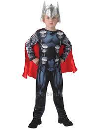 new marvel avengers assemble thor boys fancy dress up classic