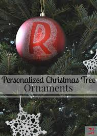 awesome personalized christmas tree ornaments part 9 make these