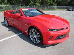 chevrolet camaro used 2017 used chevrolet camaro 2dr convertible lt w 1lt at landers