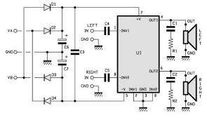 15 watt stereo amp schematic technology pinterest diy