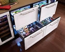 under cabinet fridge and freezer hollywood kitchen kitchen st louis by true residential