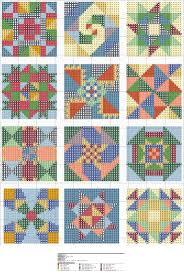 quilt pattern websites 88 best cross stitch quilt blocks images on pinterest punto