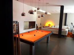 dining pool tables with marvelous modern orange dining pool table