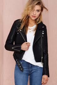 women s faux leather jackets for spring 2017 be e chic