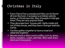 holidays how do in germany and italy celebrate