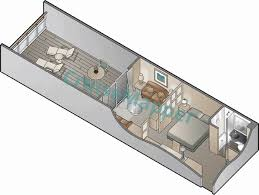 Cabin Floorplan Celebrity Summit Cabins And Suites Cruisemapper