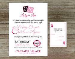 wedding invitations las vegas vegas wedding invite etsy