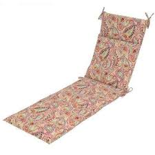 Pink Chaise Lounge Polyester Chaise Lounge Cushions Outdoor Cushions The Home Depot