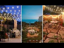 Italian String Lighting by 26 Breathtaking Yard And Patio String Lighting Ideas Will