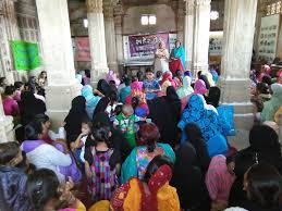 celebrations of human rights day at sharkhej roza ahmedabad on