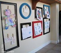 hanging kids artwork how to stylishly decorate your house with your kids art seattle s