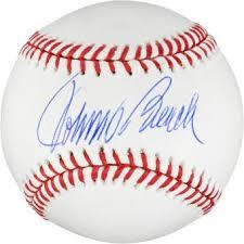 Johnny Bench Fingers Johnny Bench Signed Baseball Autographed Mlb Baseballs