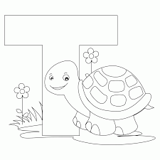d coloring pages for kindergarten