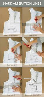 dress pattern without darts tutorial how to make a full bust adjustment on a bodice without