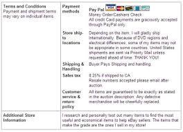 designing your ebay store dummies