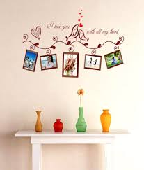 wall stickers with photo frames wall stickers with photo frames syga printed pvc vinyl brown wall stickers