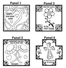 jesus feeds the 5000 coloring page memory cross memory cross sharing the good news through one