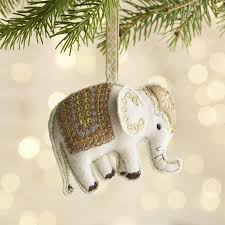 elly the elephant ornament crate and barrel