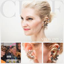 how to make ear cuffs diy ear cuff