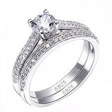 verlobungsring vorsteckring edler damen ring mit zirkonia stein verlobungsring solitär ring