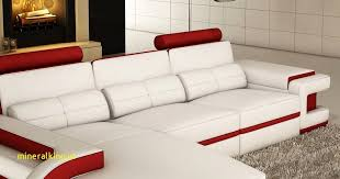 canapé d angle en cuir blanc résultat supérieur canape meridienne cuir blanc incroyable deco in