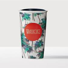 waikiki double wall traveler a double walled ceramic mug