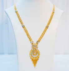 long necklace designs images Long necklace 22k gold indian design gioielleri jpg