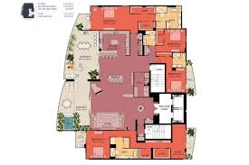 Harrods Floor Plan Sansara Condos In Sarasota Luxury Bay View Penthouse Floor Plan